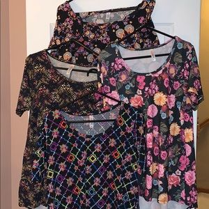 LuLaRoe Tunic Lot All 4 for 1 Price